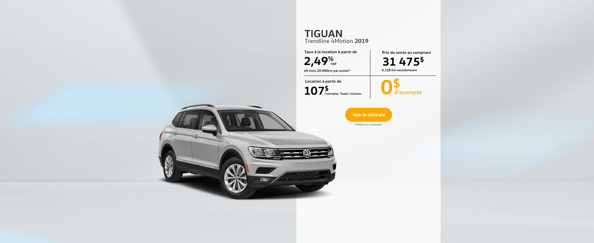 Tiguan Trendline 4Motion 2019