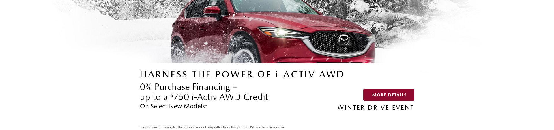 Mazda Winter Drive Event  - header