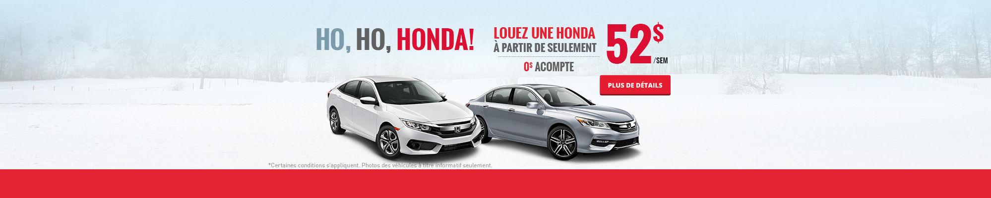 Ho, ho, Honda! - Novembre
