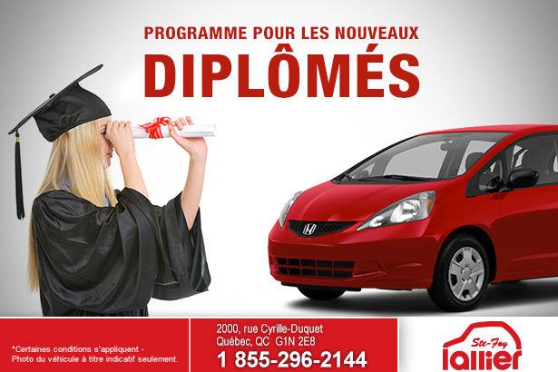 Programme pour les nouveaux diplômés