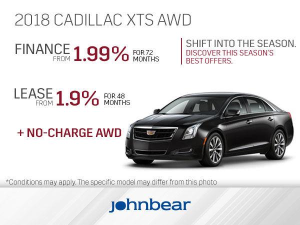 Get The 2018 Cadillac Xts Today John Bear Hamilton