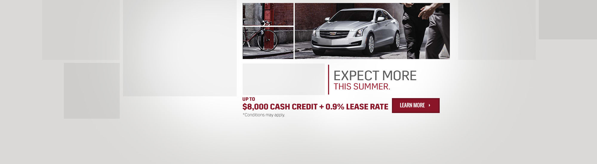 Cadillac - Expect more this summer