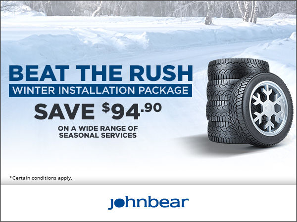 Beat the Rush - Winter Installation Package
