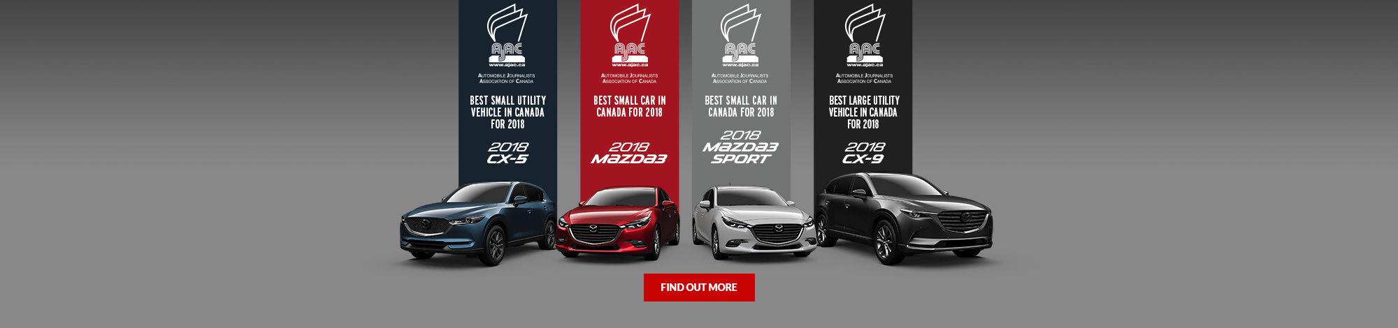 Mazda AJAC Awards