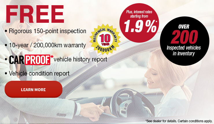 Over 200 Inspected vehicles in inventory