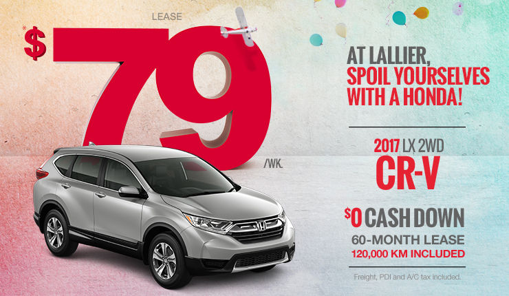 Spoil Yourselves with a Honda - CR-V