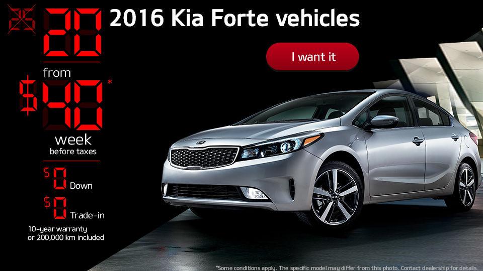 20 2016 Kia Forte vehicles