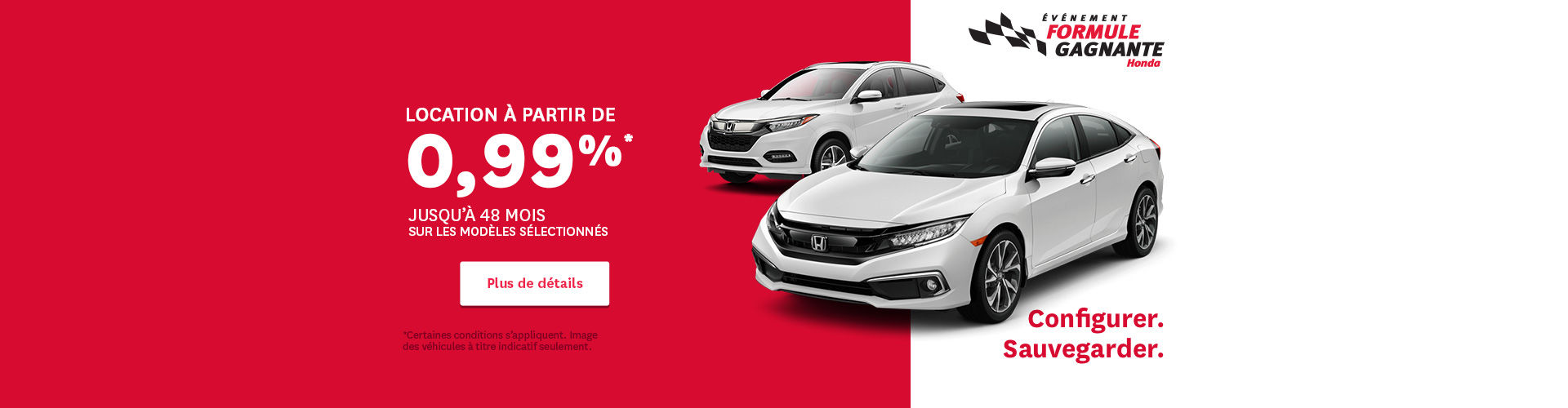 Honda event - header
