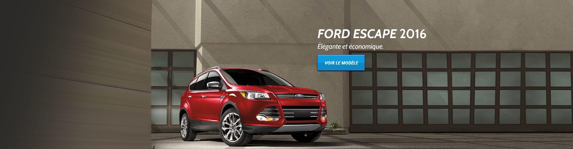 Lancement Ford Escape 2016