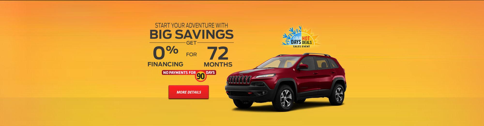 Promo February Jeep