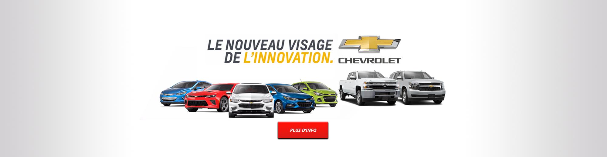 Chevrolet | Le nouveau visage de l'innovation