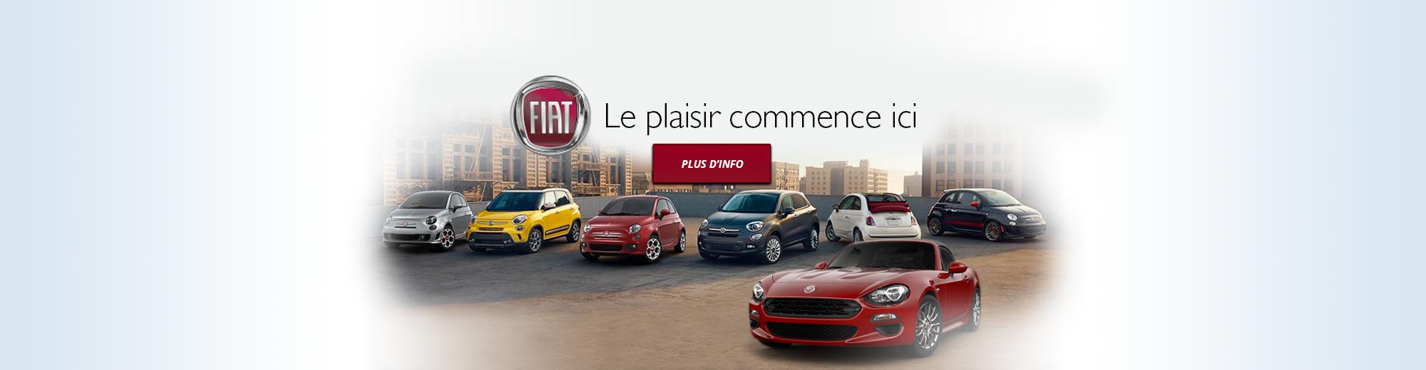 Fiat | Le plaisir commence ici