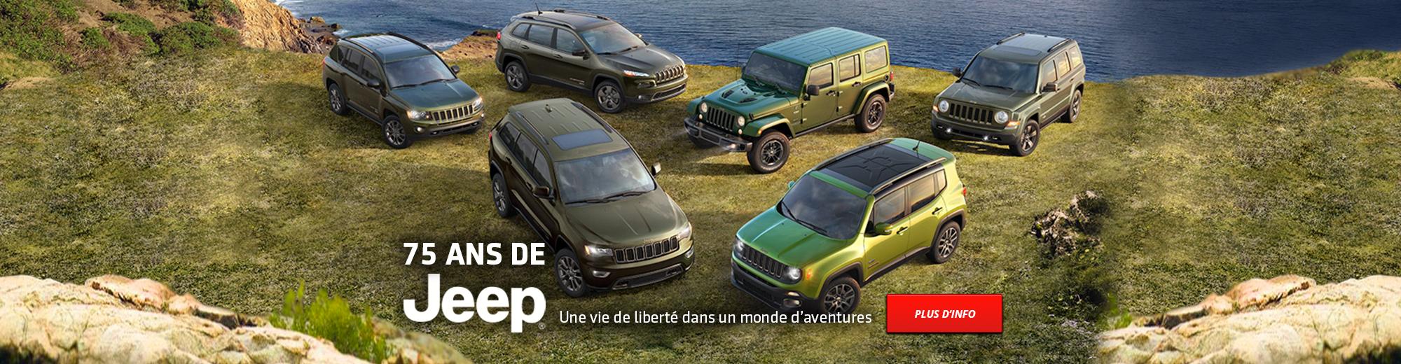 75 ans de Jeep | Une vie de liberté dans un monde d'aventures