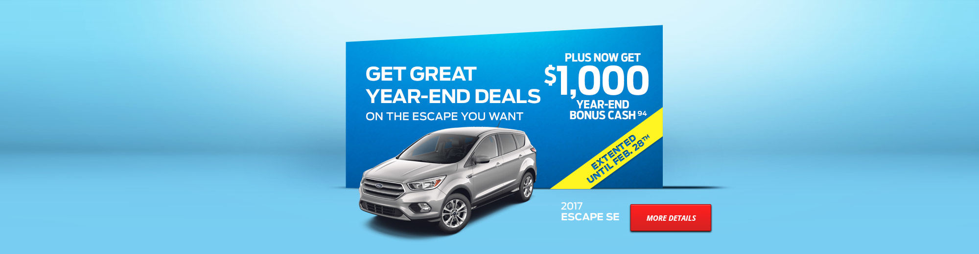 GET GREAT YEAR-END DEALS