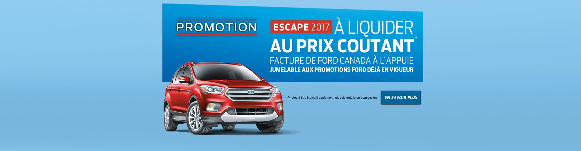 Promotion - Escape 2017