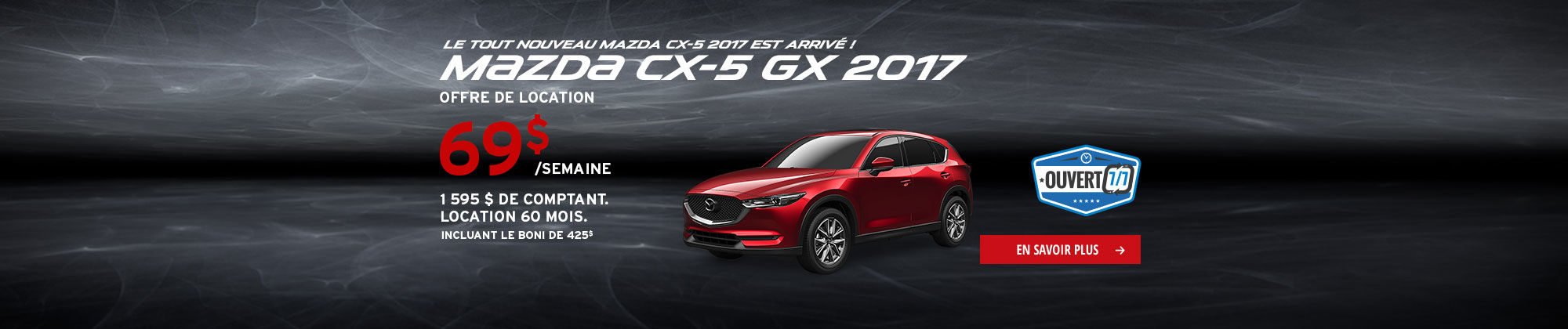 Roulez en Mazda cet été-CX5