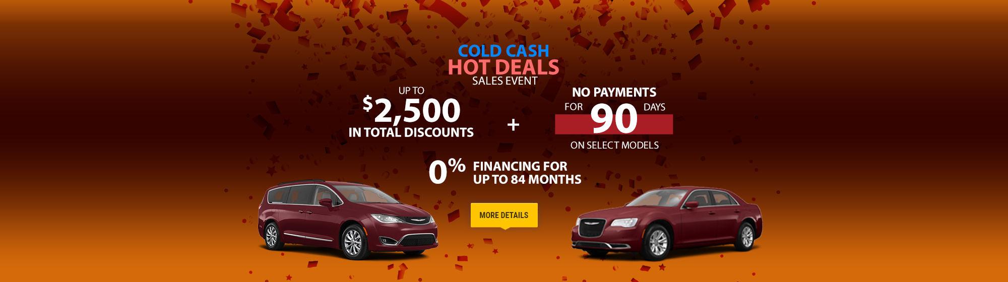 Promotions Amherst Chrysler February