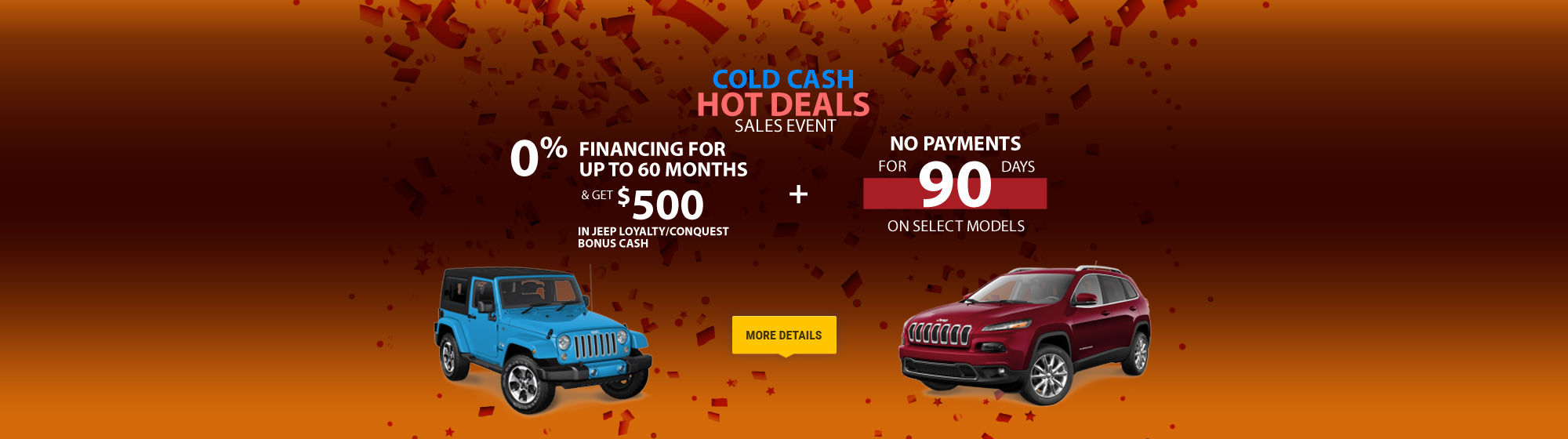 Promotions Amherst JEEP February