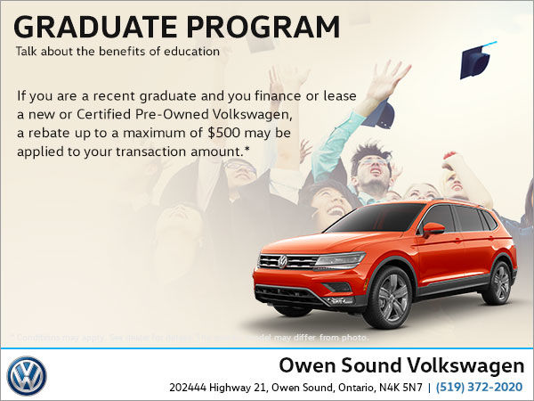 Graduate Program Owen Sound Volkswagen