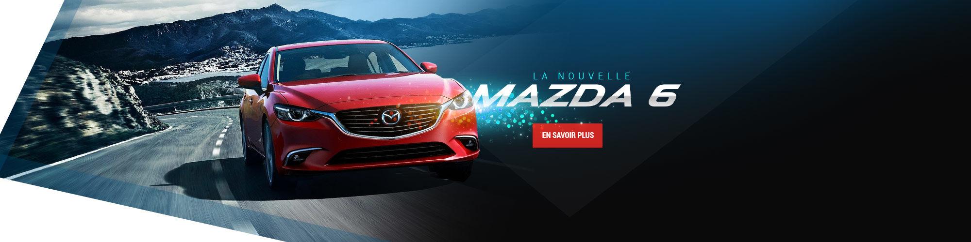 La nouvelle Mazda 6 (Nouveau site)