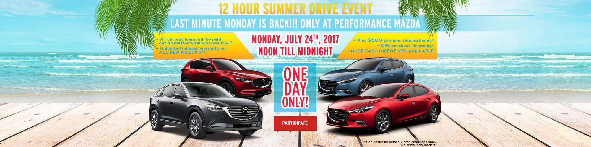 Last Minute Monday - July 24th