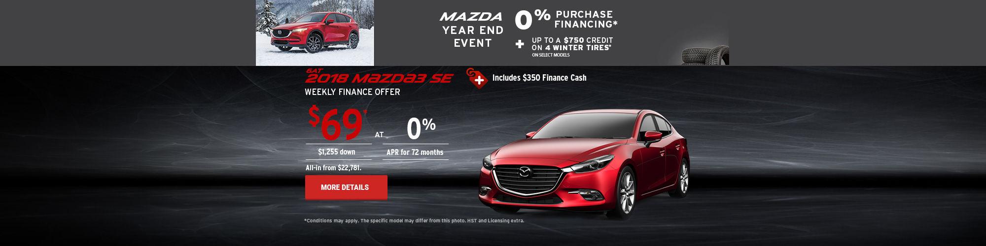 2018 Mazda3 - header