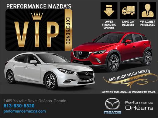 Performance Mazda VIP Experience