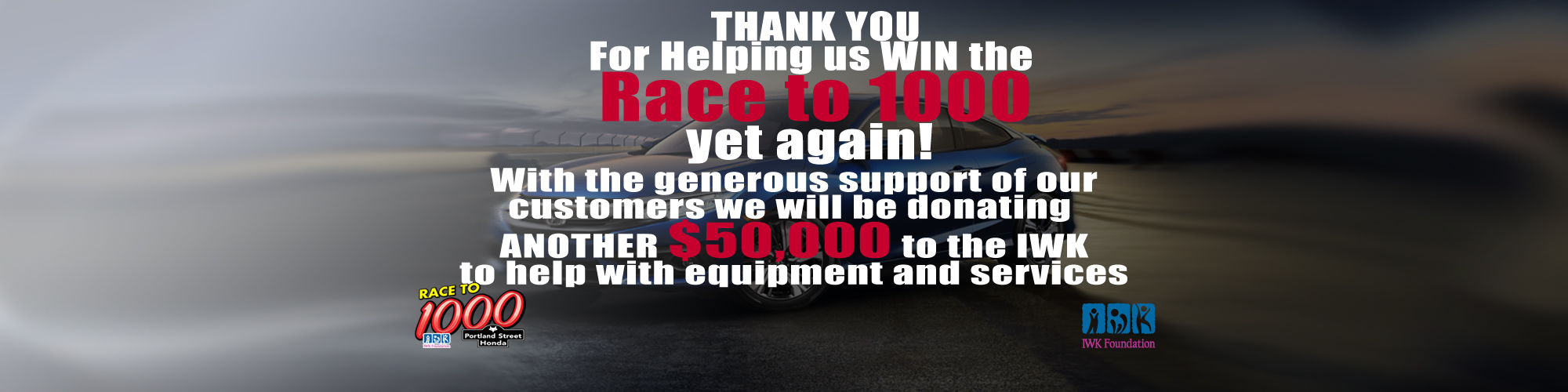 Race to 1000