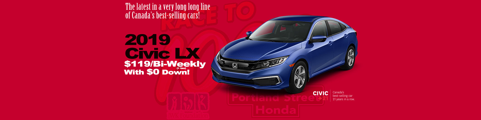 Honda Civic $119/Bi-Wekkly