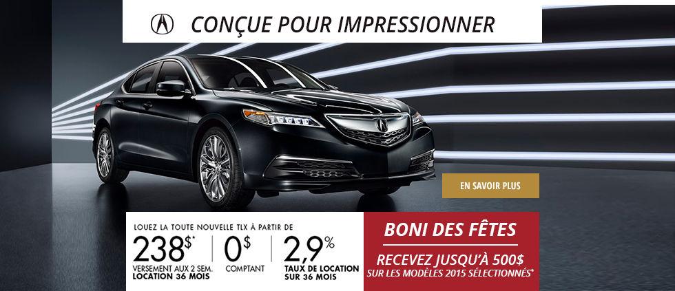 Acura TLX 2015 décembre