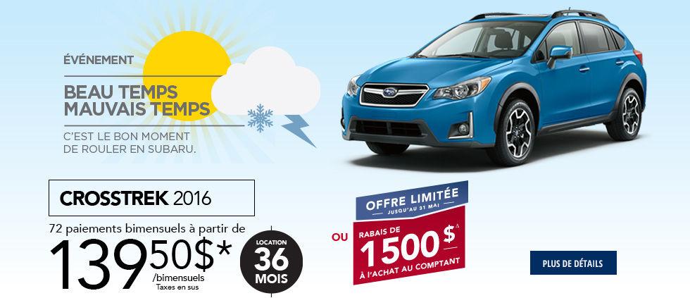 Promo Subaru Mai Crosstrek