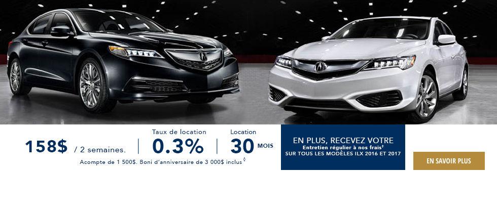 Promotions Acura Brossard - Ste Julie Février