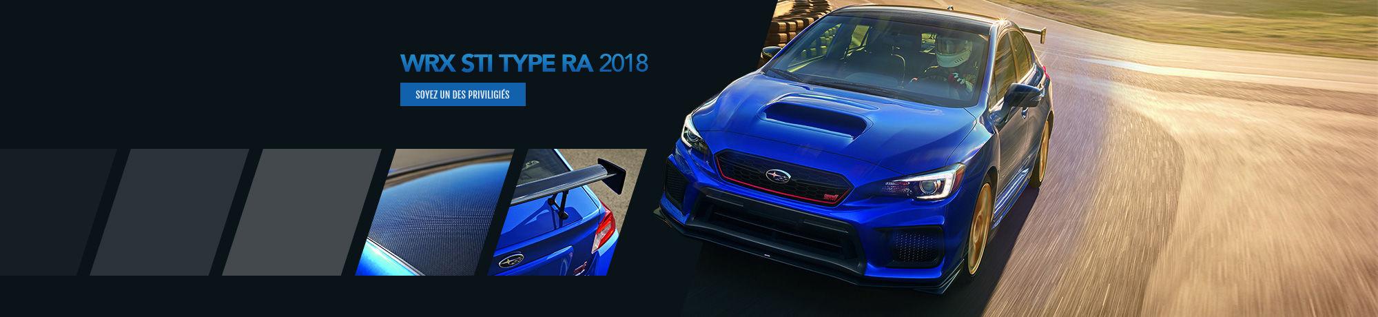WRX STI TYPE RA 2018