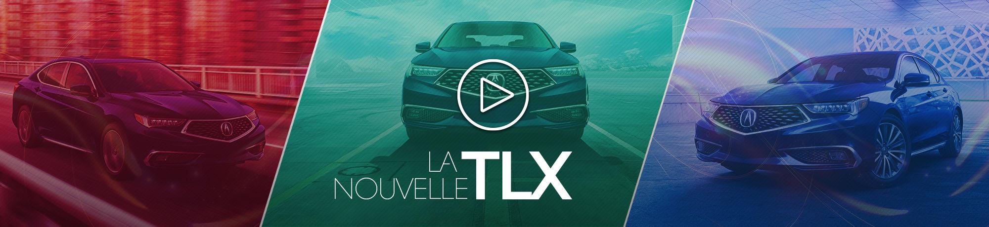 La nouvelle TLX