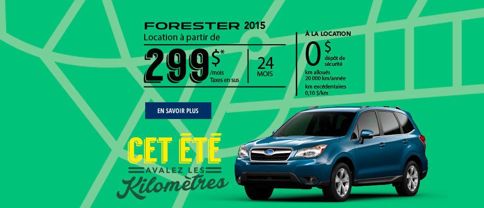 Header Home forester 2015