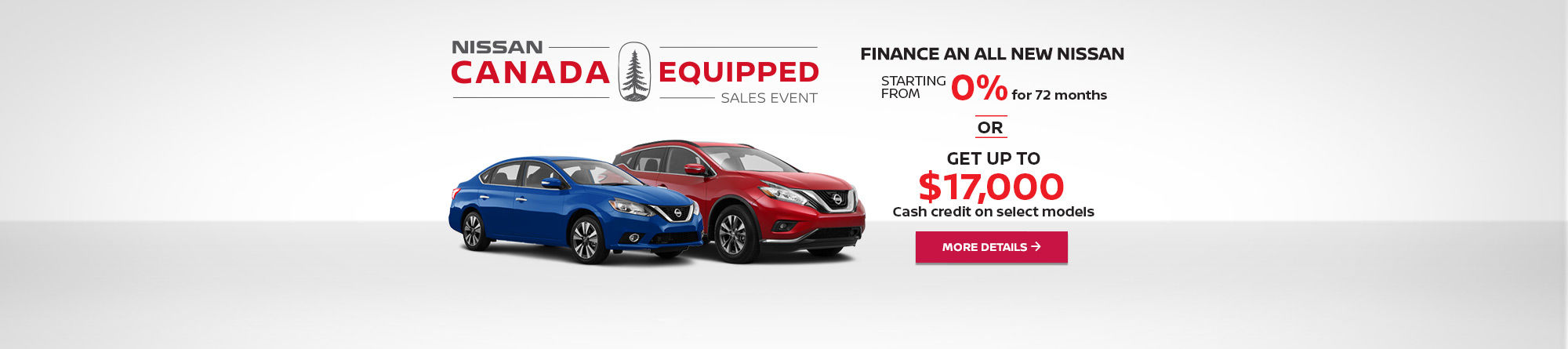 Nissan Canada Equipped Sales Event! (mobile)