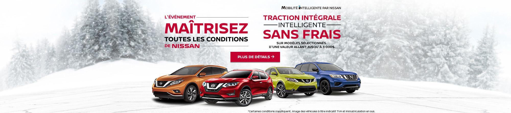 Maîtrisez toutes les conditions - Nissan