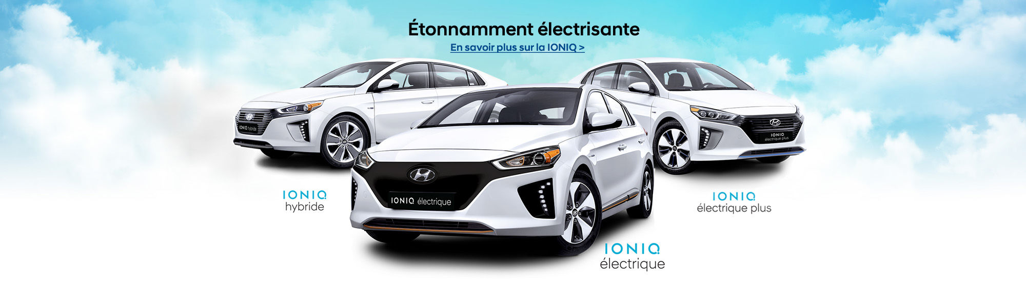 Ioniq Hybride-électrique-électrique plus
