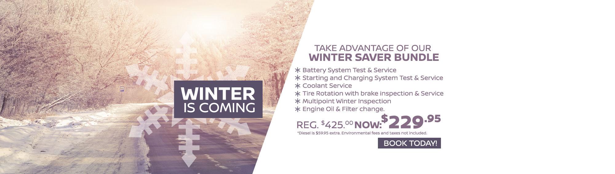 Get Ready for Winter at Gord Scott Nissan! (Desktop)