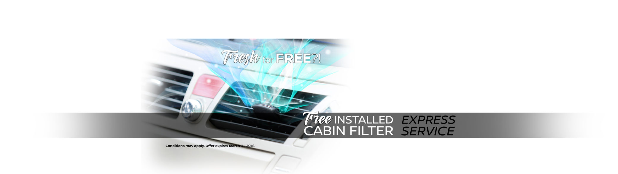 Free Installed Cabin Filter