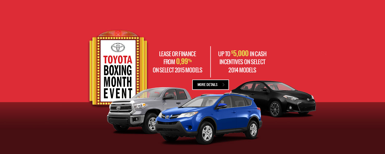 Toyota boxing month event - Toyota Lachine