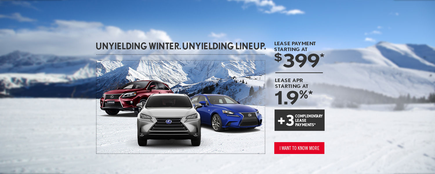 Lease payment starting at $399 - Spinelli Lexus Pointe-Claire