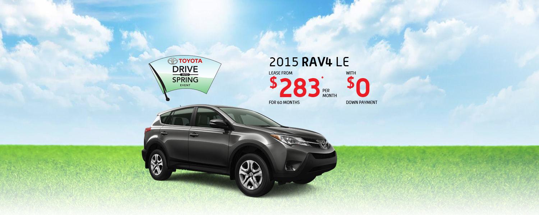 2015 Toyota RAV4 - Toyota March