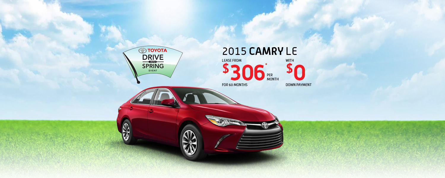 2015 Toyota Camry - Toyota March