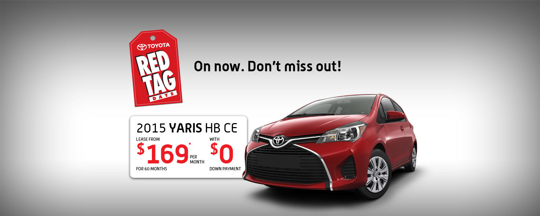 2015 Toyota Yaris - Toyota April