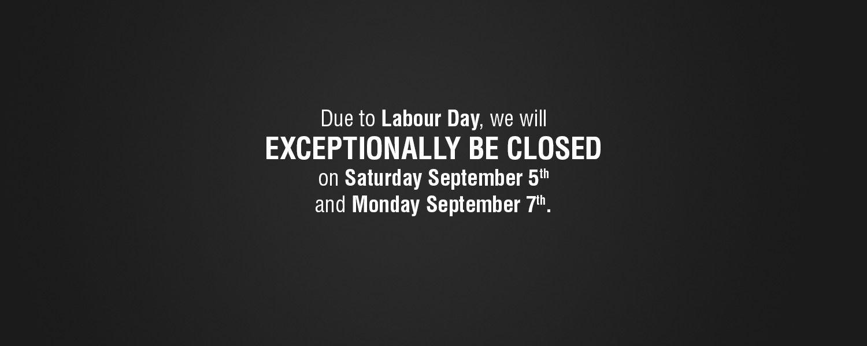 Labor Day Schedule 2015 - Spinelli Scion