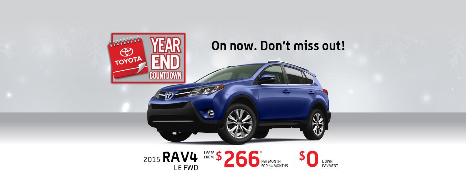 TOYOTA RAV4 DEALS IN MONTREAL AT SPINELLI TOYOTA POINTE-CLAIRE
