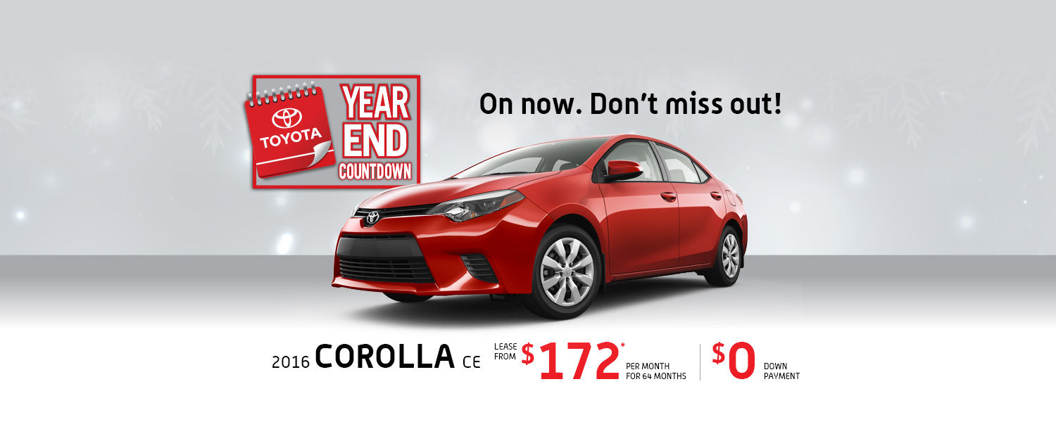 TOYOTA COROLLA DEALS IN MONTREAL AT SPINELLI TOYOTA POINTE-CLAIRE