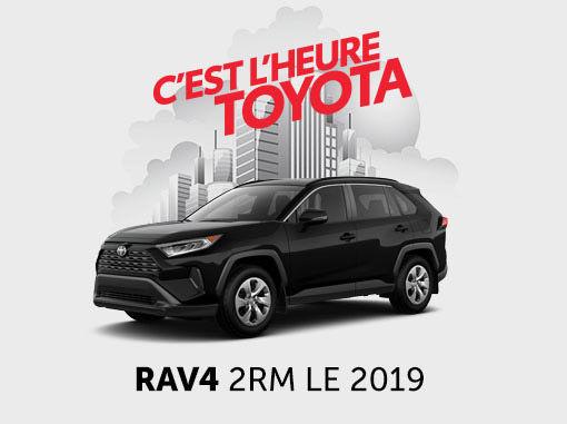 Toyota RAV4 neuf en promotion à Montréal