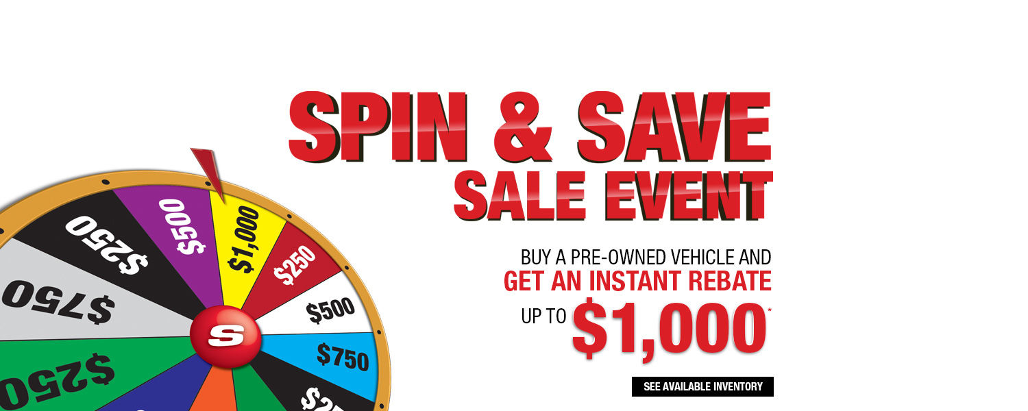 Spin Sale